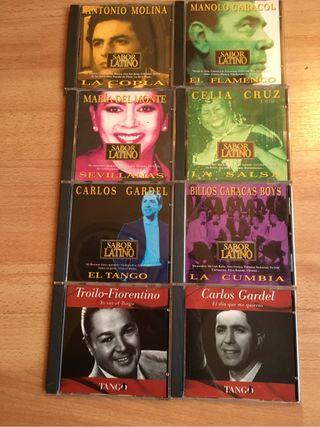 Coleccion cd's musica latina