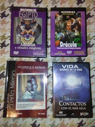 DVD's Ciencias Ocultas y fenómenos paranormales