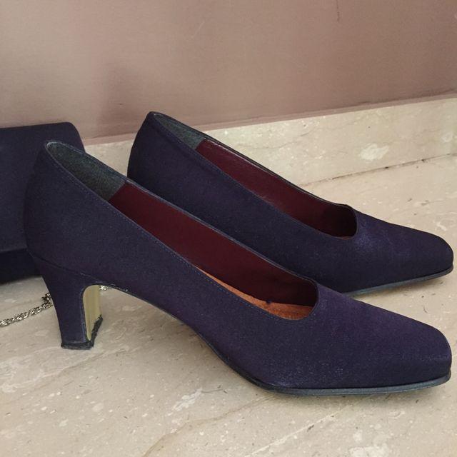 Zapatos y bolso conjunto boda