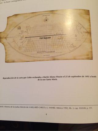 Réplica de Cartas Náuticas Cristobal Colón
