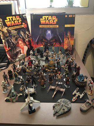 Colección Star Wars Figuras de Plomo