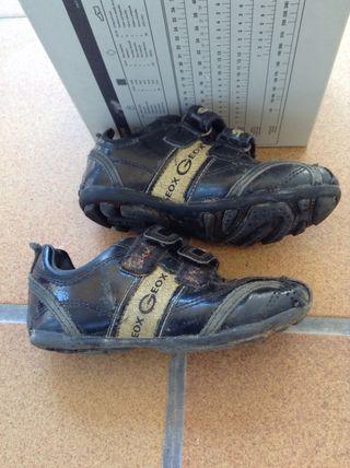 Zapatillas deportivas doradas GEOX de segunda mano por 25