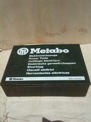 Maletín taladro metabo