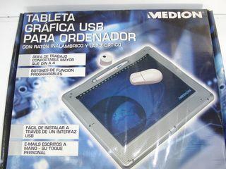 Tableta grafica diseño PC USB