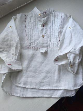Camisa lino niño