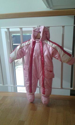 Buzo sky bebé rosa PRENATAL 3-6 meses.