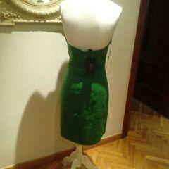 Vestido Verde de Zara Nuevo a Estrenar.