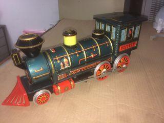 Locomotora tren antigua