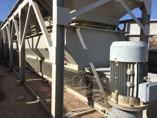 Planta de hormigón frumecar de 750M3 entendido