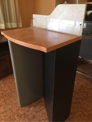 Mueble stand expositor madera Tienda oficina
