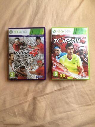 Pack Tennis Xbox 360