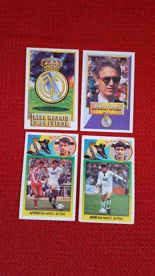 Cromos Real Madrid. Temporada 93-94.