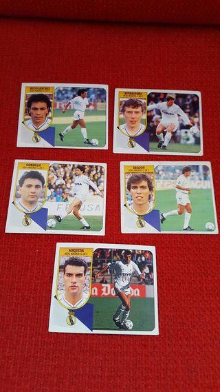 Cromos Real Madrid. Temporada 91-92.