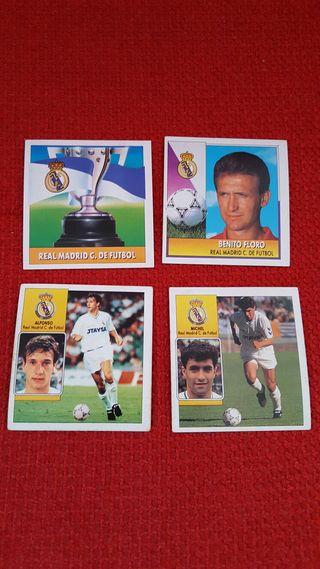 Cromos Real Madrid. Temporada 92-93.
