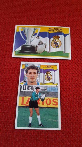 Cromos Real Madrid. Temporada 90-91