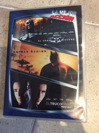 Pack Accion BATMAN 3DVD