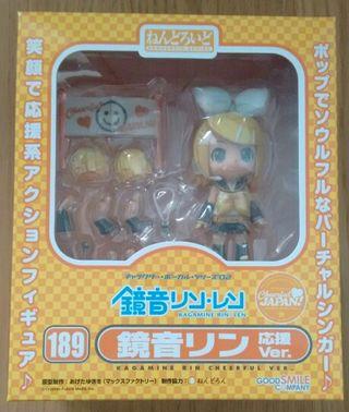 Nendoroid Kagamine Rin Cheerful de Vocaloid