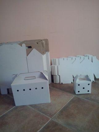 Transportin de carton para pajaros