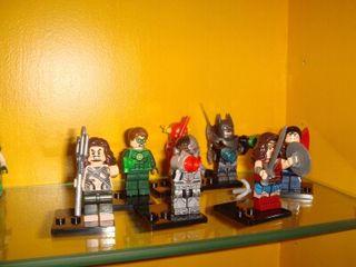 Lego liga de la justicia dc comics