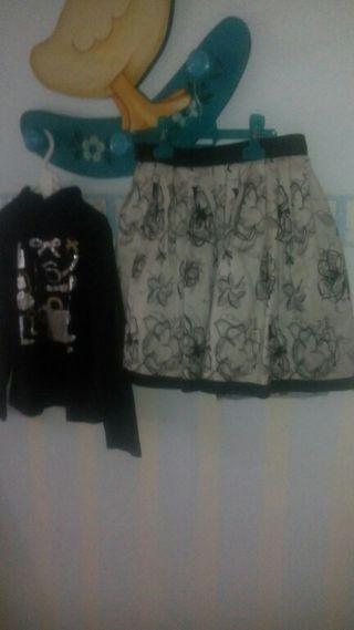 jersey y falda