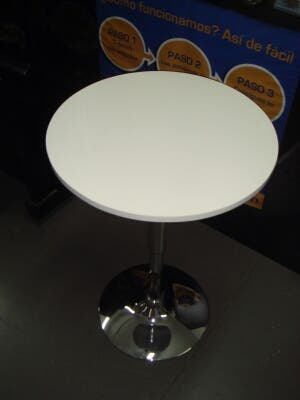 Mesa cafetería elevable reclinable 60x69