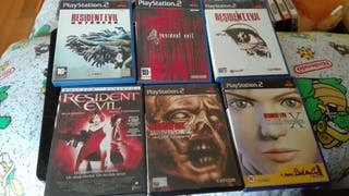 oferta lote Juegos resident evil