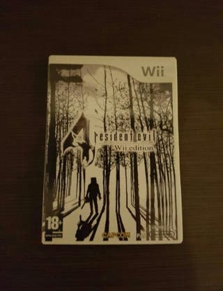 Juego resident evil 4 para wii