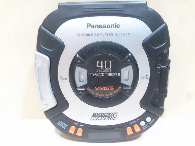 Disc Man Panasonic SL-SW515