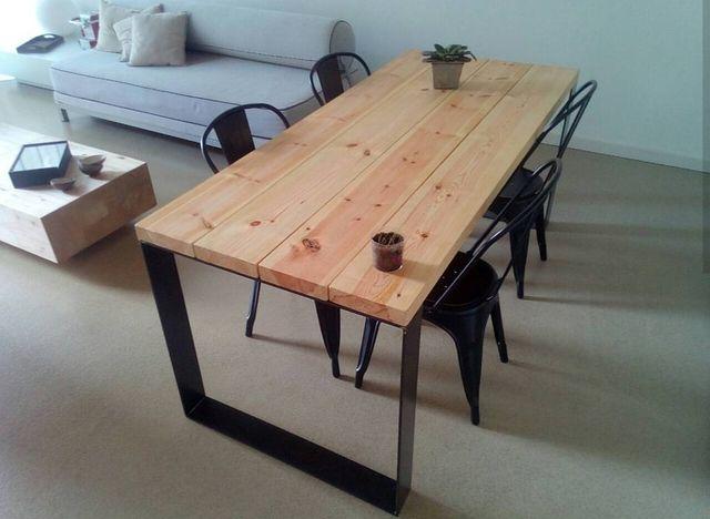 Mesa comedor estilo nórdico de segunda mano por 515 € en Sant Cugat ...