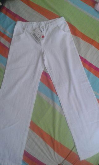 Pantalón blanco 10 años