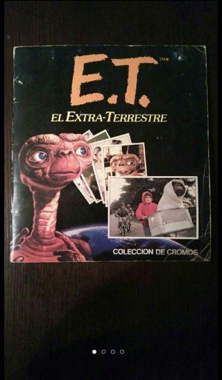 ALBUM COMPLETO E T. EL EXTRA-TERRESTRE (1982)