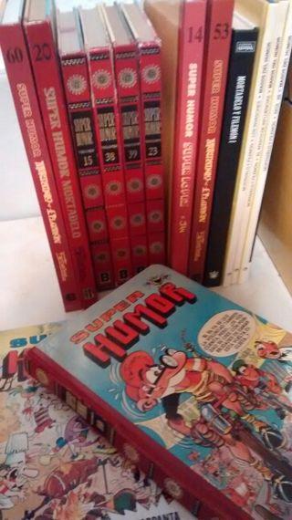 Libros Mortadelo y Filemon. (Super Humor)