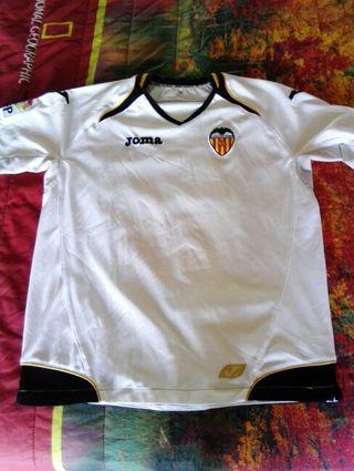 Camiseta fútbol Valencia C.F. talla 12.