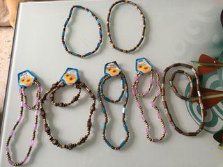 Conjunto de collar con pulsera