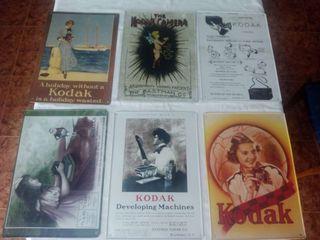 Colección láminas originales KODAK