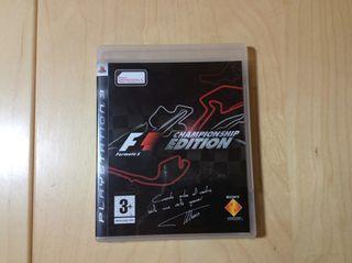 F1 Championship Edition PS3