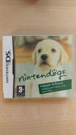 Juego Nintendogs Labrador & Friends