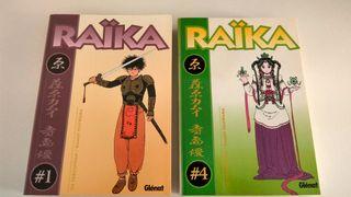 Raika volumenes 1 y 4