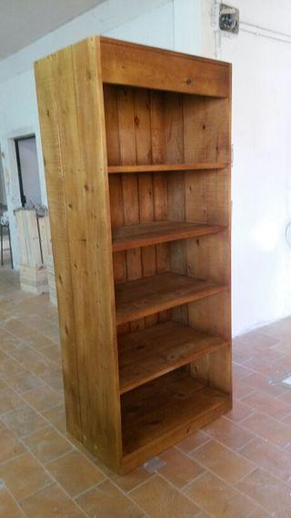 Estanteria madera maciza de segunda mano por 175 en petrer en wallapop - Estanteria madera maciza ...