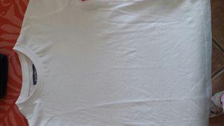 Camiseta básica blanca talla 5