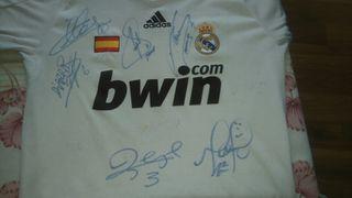 Camiseta real Madrid Firmada 2006