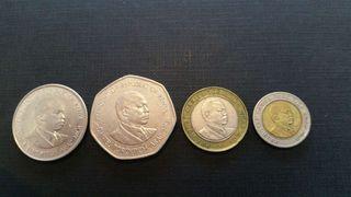 Monedas Kenya
