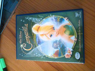 Pelicula dvd infantil Campanilla