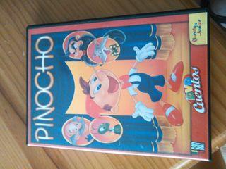Pelicula dvd infantil Pinocho
