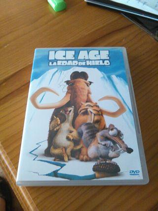 Pelicula dvd infantil Ice age