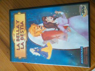 Pelicula dvd infantil La bella y la bestia