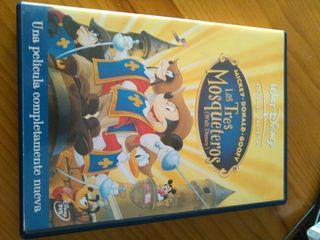Pelicula dvd infantil Los tres mosqueteros