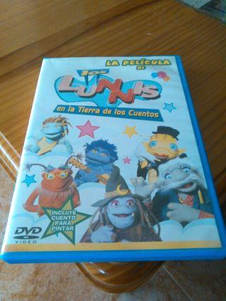 Pelicula dvd infantin Los lunnis