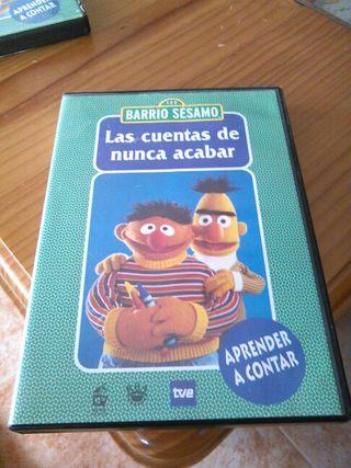 Pelicula dvd infantil Barrio sesamo
