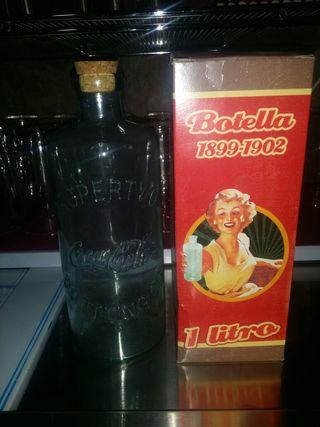 Botella cocacola antigua